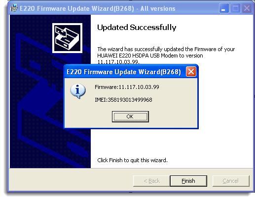 Computer and internet tricks: How to Upgrade Huawei E220 to