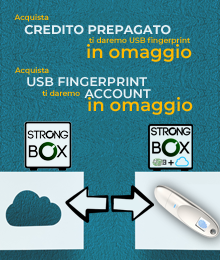 OFFERTA ESTIVA STRONGBOX CLOUD e USBfingerPrint