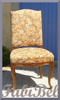 DIY relooking régence style chair