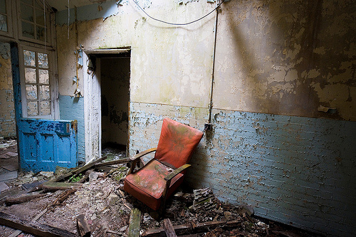 Doctor Ojiplático. East Sussex County Asylum, Hellingly