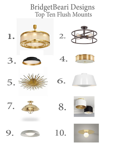 Bridget Beari's Top 10 Flush Mount Picks