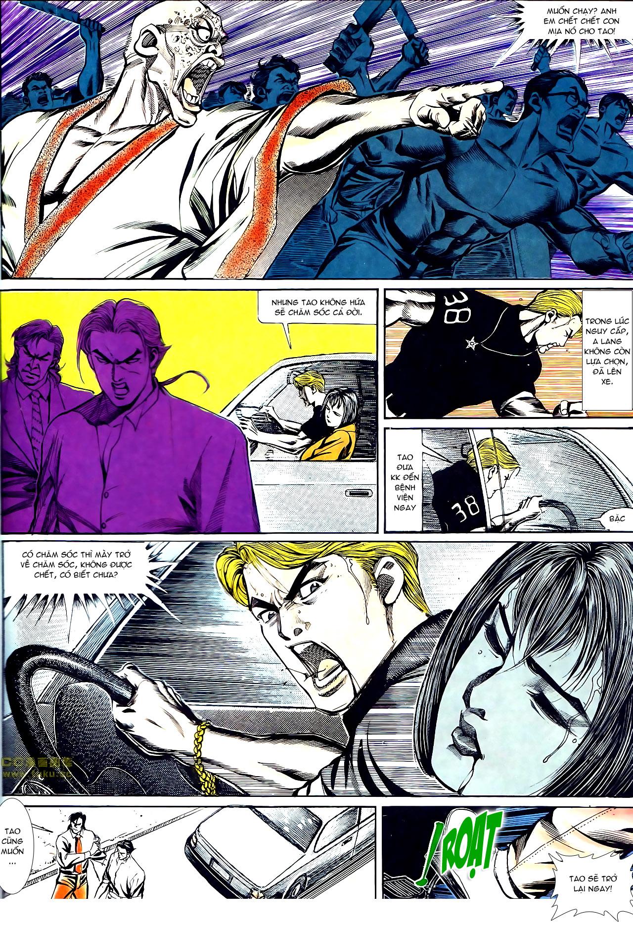 Người Trong Giang Hồ chapter 141: chính khí lẫm liệt trang 27