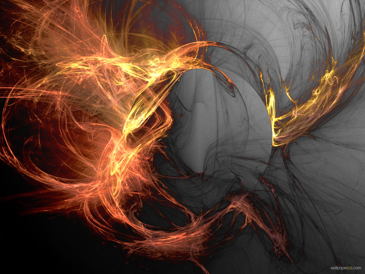 Flame background wallpaper