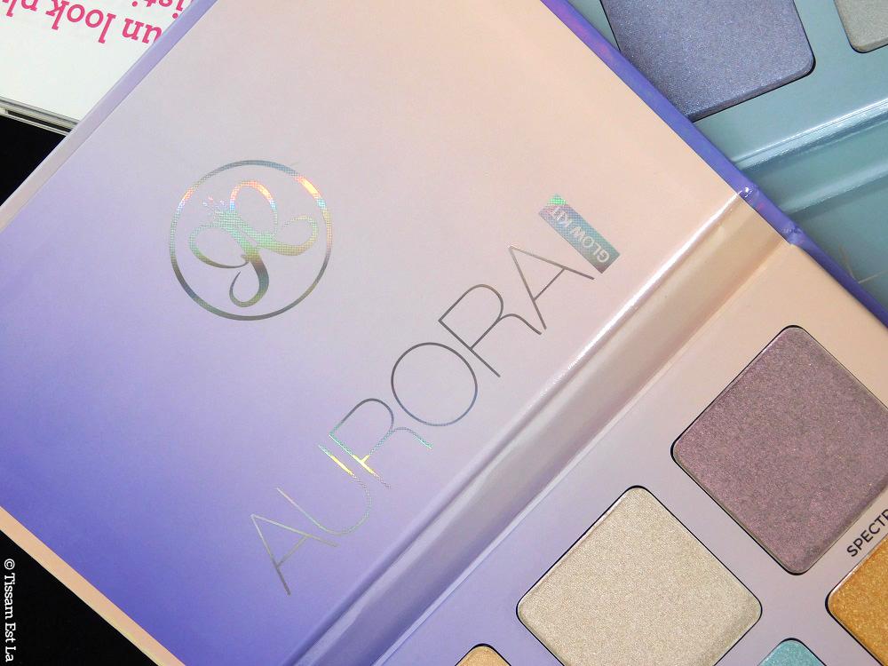 Anastasia Beverly Hills - Aurora Glow Kit - Highlighting Palette - Palette de Highlighters - Aurora Palette - Palette Aurora - ABH - ABH Aurora Glow Kit - Duochrome Highlighters