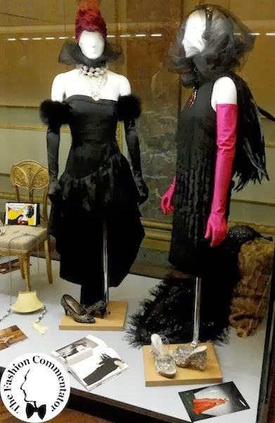Donne protagoniste del Novecento - Cecilia Matteucci Lavarini - YSL evening dress (1987-1990); Prada FW2007 - Galleria del Costume Firenze
