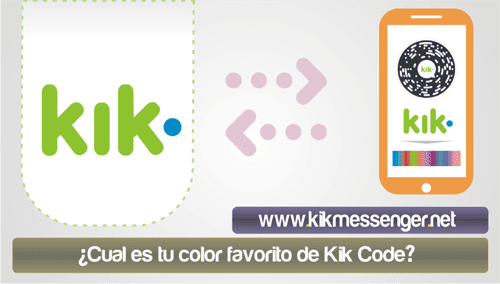 Cual es tu color favorito de Kik Code