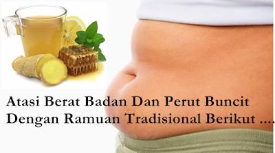 ramuan tradisional mengurangi nafsu makan