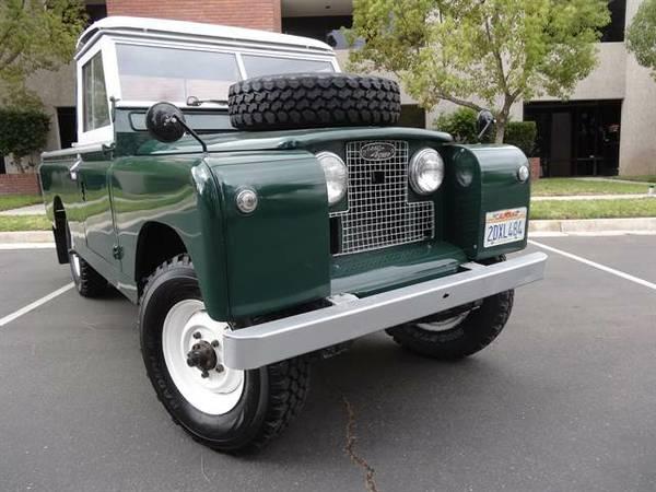 Auto Restorationice: Land Rover