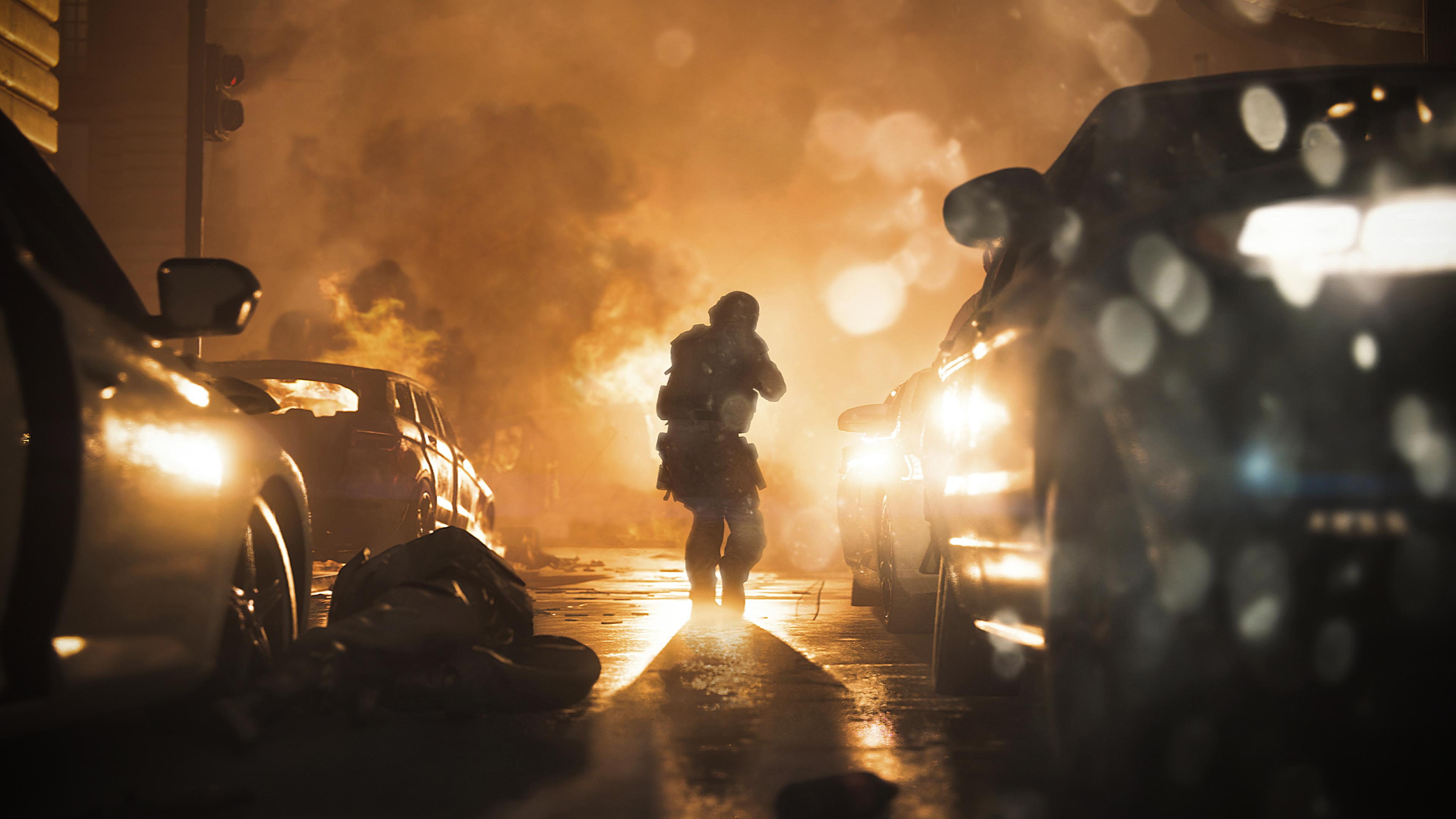 Call Of Duty Modern Warfare Soldiers 4k 4 Wallpaper
