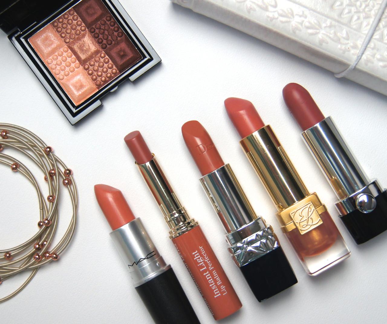 top 5 best high end nude lipsticks dior mac clarins marc jacobs estee lauder