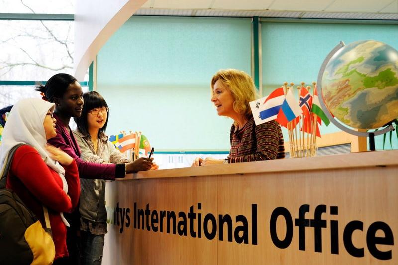 Văn phòng sinh viên quốc tế khu học xá Eindhoven