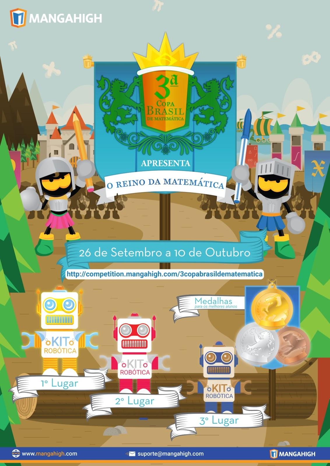 3ª Copa do Brasil de Matemática: O Reino da Matemática