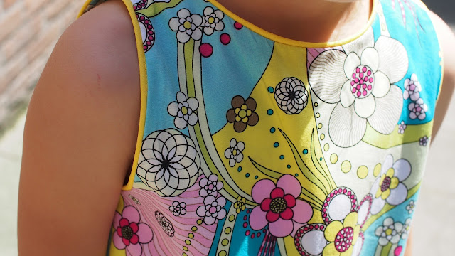 cbc2fc2a47df1 Krikľavé žlté letné šaty / Garish yellow summer dress | letvor
