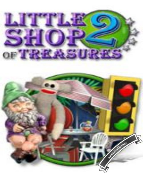 Little Shop of Treasures 2 Cover, Poster