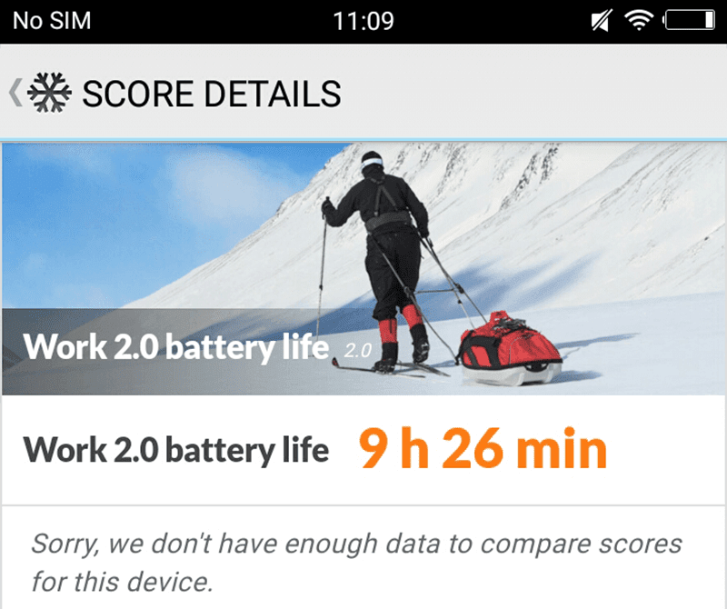 Good battery performance