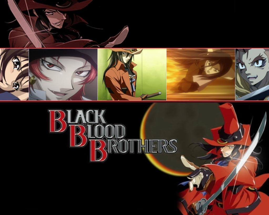 Black Blood Brothers [BD] Sub Indo : Episode 1-12 END