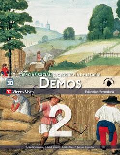 Libro Geografía e Historia 2º ESO Vicens Vives Proyecto Nuevo Demos