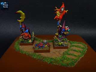 Night Goblins / Moonclan Grots Shaman and Warboos Foot of Gork