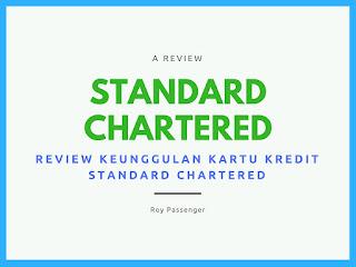 keunggulan kartu kredit standrad chartered