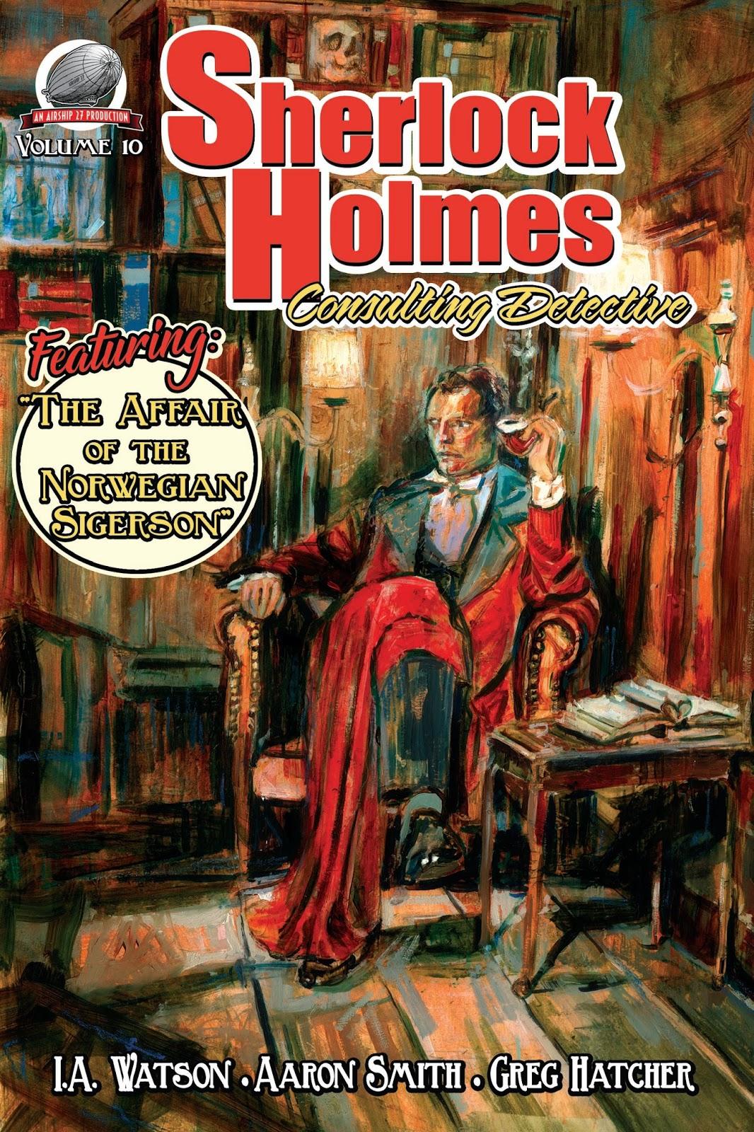 SHERLOCK HOLMES - Consulting Detective Vol 10
