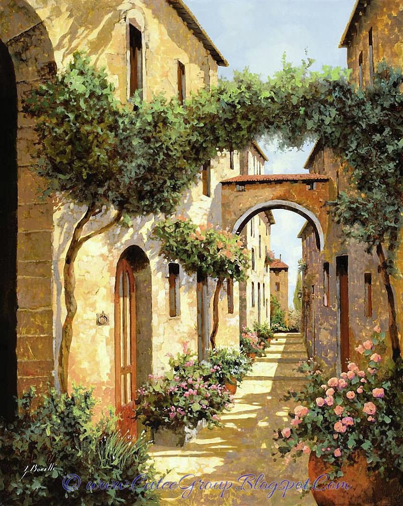 Cuadros Antiguos Al Oleo Art - Guido Borelli | The World Of Fun Cutee Group