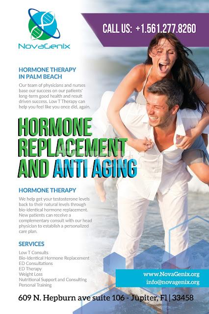 NovaGenix is the best HRT clinic in Palm Beach Gardens