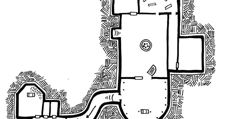 Bernie the Flumph: Crypt of Morgrath [Mini-Map Monday]