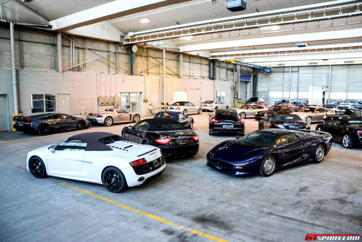 Luxury Car Garage Wallpapers Desk
