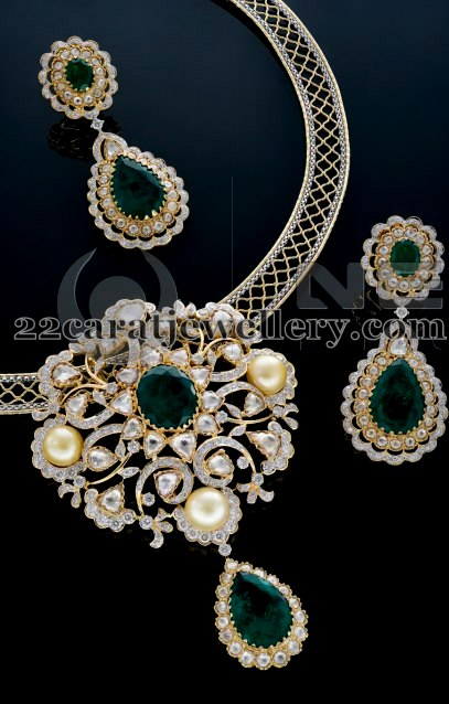 Diamond Locket By Vaibhav Jewellers Jewellery Designs