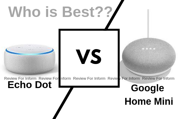 Echo Dot vs Google Home Mini || Who is best