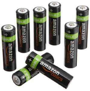 AmazonBasics AA, for digital cameras, remotes etc,2000 mAh,pack 16 pcs £18.69