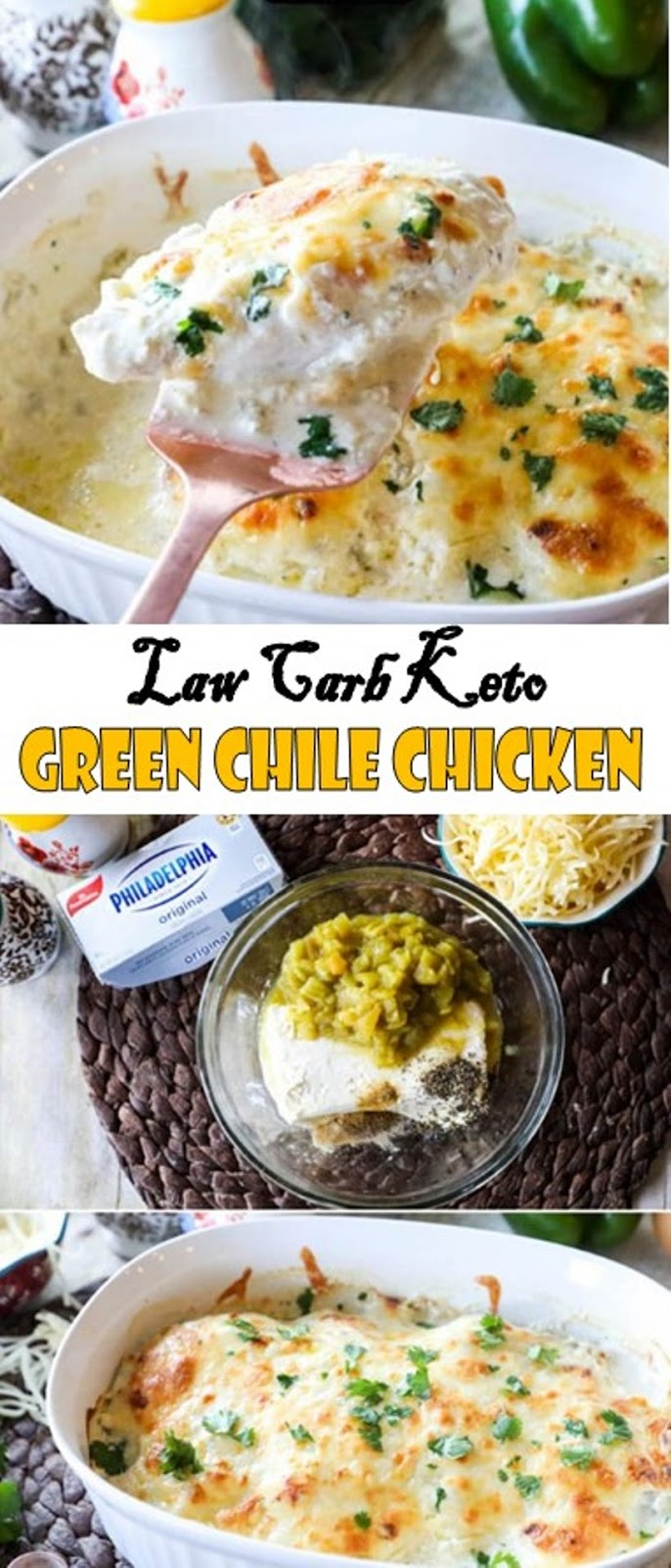Law Carb Keto Green Chile Chicken Recipe