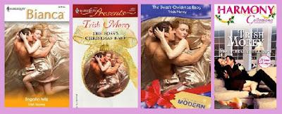 Portadas del libro Engaño feliz, de Trish Morey