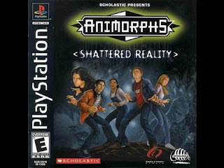 LINK animorphs Shattered Reality PS1 ISO CLUBBIT