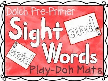 https://www.teacherspayteachers.com/Product/Pre-Primer-Dolch-Sight-Words-Play-Doh-Mats-1716201