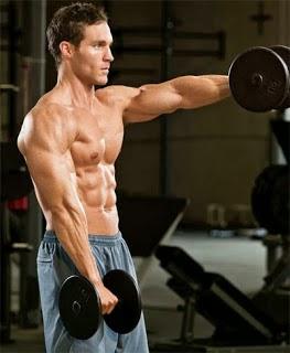 تمارين عضلات الاكتاف للمبتدئين بالصور والشرح