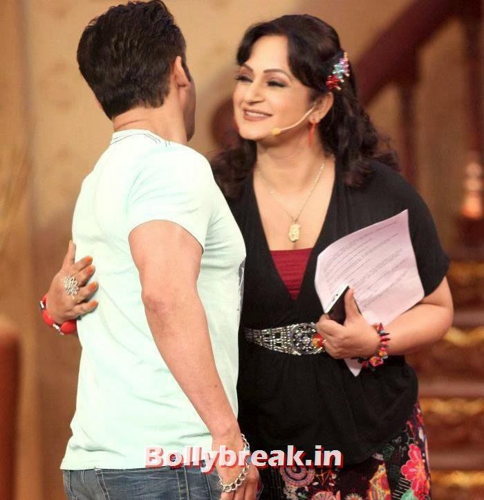Salman Khan, Upasana Singh, Salman Khan & Daisy Shah on Comedy Nights with Kapil