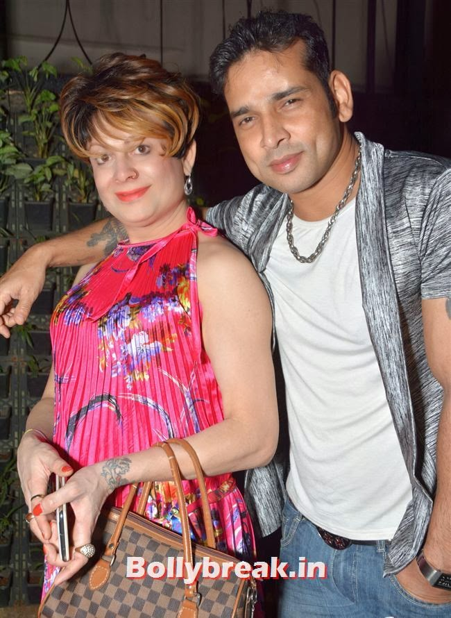 Bobby and Sudip Pandey, Page 3 Celebs at Lagerbay New Menu Launch Party