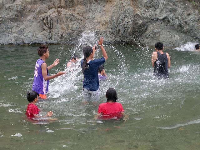 Canding River fun