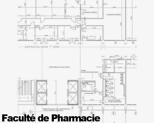 Plan-autocad-pharmacie