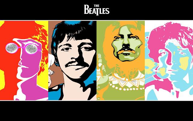 Papel de parede musica the beatles