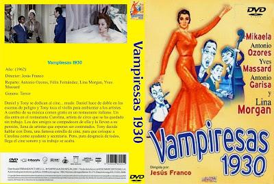 Vampiresas 1930 | 1962 | Caratula de Dvd