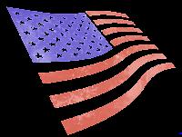 Bandeira dos EUA em png