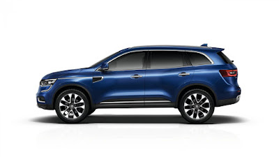 New 2017 Renault Koleos Facelift side view Hd Photos