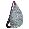 Slope Rope Sling Bag Crossbody Shoulder Backpack Everyday Man ,Women, Teens Bag - Feather