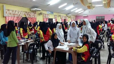 Ceramah Sains PT3 di SMK Megat Dewa