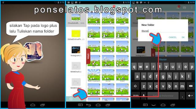 Cara Membuat Folder Baru di Galeri Android