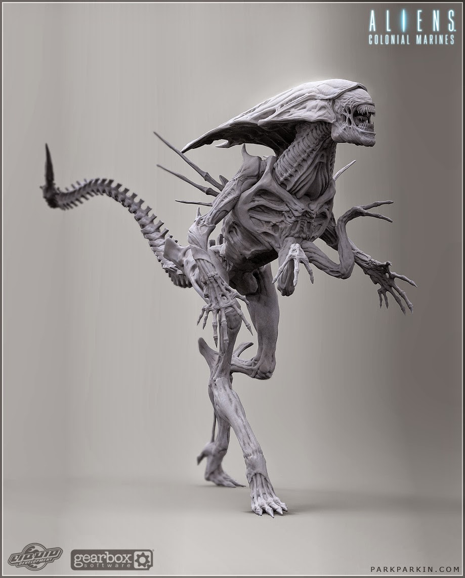 How to Carve Roast Unicorn: 3D ALIEN QUEENXenomorph Queen Prometheus