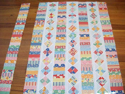 What a great scrap quilt pattern