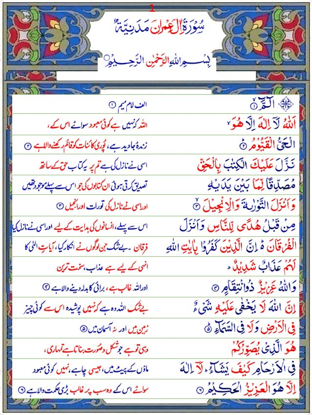 Full Quran Urdu Translation Pdf